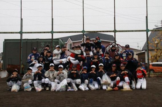 11月2日 第8回女子野球交流会! 雨がちらつく中、開催!