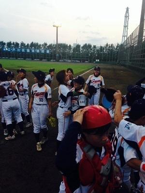 全日本女子軟式野球選手権、堂々3位!