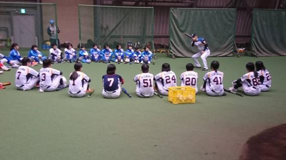 北海道日本ハムファイターズ 野球教室!